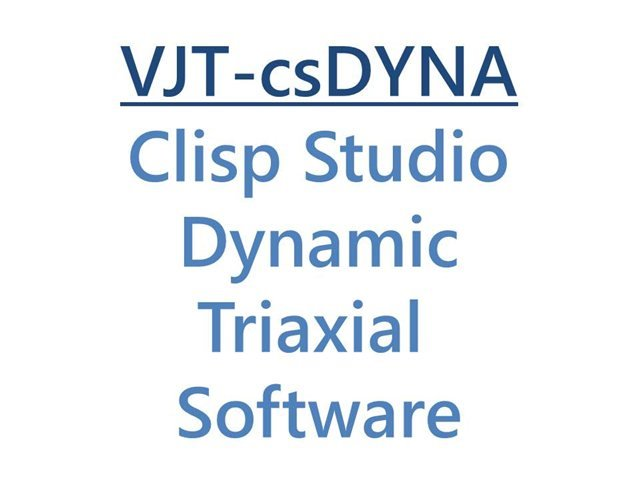 Clisp Studio Dynamic Triaxial Software Module